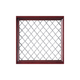Hand-Woven Nickel Color Grille
