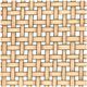 Modern Open Weave Cane