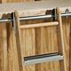 Rockler Rolling Utility Ladder - Ladder Hardware, Zinc