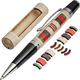 Afghanistan Service Ribbon Laser-Cut Inlay Pen Kit Blank