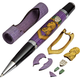 Purple Heart Laser-Cut Inlay Pen Kit Blank
