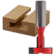 Freud® 52-522 T-Slotting Cutter Router Bit - 1-1/8