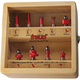 Freud® 91-108 9-Pc. Basic Router Bit Set - 1/2