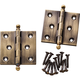 Ball Tip Extruded Hinges 2'' L x 2'' W