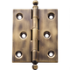 Solid Brass Ball Tip Extruded Hinges 2-1/2'' L x 2'' W