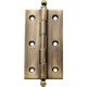 Narrow Ball Tip Extruded Hinges 3'' x 1-5/8''