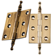 Finial Tip Extruded Hinges 2-1/2'' L x 2'' W
