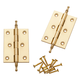 Finial Tip Extruded Hinges 3'' L x 2'' W