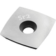 Sr2 Replacement Cutter for Full-Size Carbide Turning Tool, Square Radius