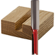 Freud® Double Flute Straight Router Bits - 1/4