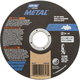 Norton® Metal™ Straight Reinforced Cut-Off Wheel, 4-1/2'' Dia. x 0.040'' Thick x 7/8'' Hole