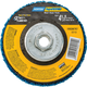 Norton® Rapid Strip Depressed Center Non-Woven Disc, 4-1/2'' Dia. x 5/8-11 Hub, Coarse