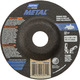 Norton® Metal™ Depressed Center Grinding Wheel - 4-1/2'' Diameter
