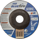 Norton® Bluefire™ Depressed Center Grinding Wheel - 4-1/2'' Diameter