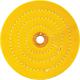6'' Buffing Wheel, Firm (Orange)