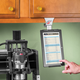 Portable Tablet Mount for Cabinets - by Upper Desk™