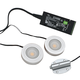 Loox 3010 24V LED Puck Light Kit