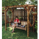 Outdoor Swing and Arbor Downloadable Plan