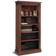 Walnut Library Bookcase Downloadable Plan