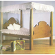 Early-American Doll Bed Downloadable Plan