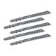 Bosch Basic 8 TPI T-Shank Jigsaw Blades, 5-Pack