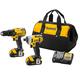 DeWalt 20V MAX Li-Ion Compact Drill/Impact Driver Combo Kit