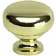 Berenson Plymouth Knob - Polished Brass (7316-303-C)