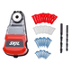 Drill Dust Collector with 42-Piece Wall Anchor Kit