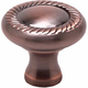 Brushed Antique Copper Newport Knob