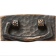 Dark Copper Stickley Drawer Pull, 3-1/8