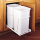 Rev-a-Shelf Double Bottom Mount Waste Container Pullout