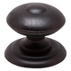 Berenson American Mission Knob, Round, 9881-1RB-B - Rustic Brass Finish