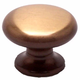 Brushed Bronze Valencia Knob