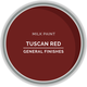 GF Milk Paint, Tuscan Red, Pint
