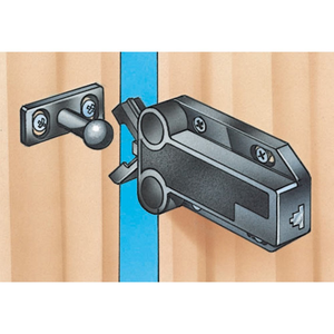 Safe Push Touch Latches Select Size And Color Rockler Woodworking Tools