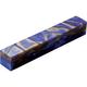 Pearlized Swirls of Bronze, Violet & Blue Acrylic Pen Blank