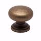Berenson Euro Classica Knob, Round, 7099-1DAB-C - Dull Antique Brass Finish