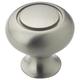 Amerock Allison Value Hardware Brushed Nickel 1-1/4'' Ring Knob, BP53011-G10