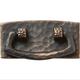 Dark Copper Stickley Drawer Pull, 3-3/4