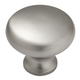 Belwith Power and Beauty Satin Nickel 1-1/4'' Knob, BK13-15