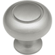 Belwith Power and Beauty Satin Nickel 1-1/4'' Classic Knob, K444