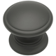 Belwith Power and Beauty Oil Rubbed Bronze 1-1/4'' Classic Knob, K344
