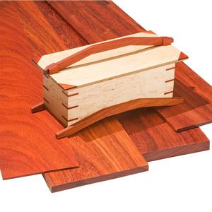 "1//4/"" x 1 1//2/"" x 16/"" Padauk Thin Stock Lumber Boards Wood Crafts Turning Wood"