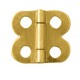 Brass-Plated Mini Decorative Small-Box Fastener Hinge