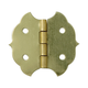 Brass-Plated Decorative Butterfly Small-Box Fastener Hinge 1 1/8