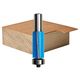 Rockler Shear Flush Trim Bit Router Bit - 3/4