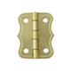 Brass-Plated Large Decorative Small-Box Fastener Hinge 1