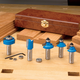 Rockler 5-Pc. Starter Router Bit Set - 1/2'' Shank