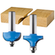 Rockler 2-Pc. Drop Leaf Table Rule Joint Router Bit Set - 1/2