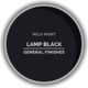 GF Milk Paint, Lamp Black, Pint